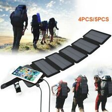Foldable Solar Panel USB Folding Phone Power Charger Panels For Camping