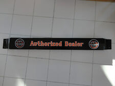 Door push bar retro antique vintage HARLEY DAVIDSON gasoline sign advertsing
