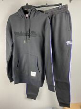 Mitchell & Ness Mens Hooded Sweatsuit Size Large