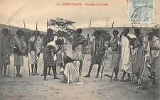 Ethiopia Dirre-Daoua, Fantasia de Somalis, Natives, Spears, Hunters, Warriors