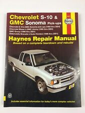 Repair Manual Haynes 24071 Chevy S10 Blazer GMC Sonoma Jimmy Isuzu 1994 - 2004