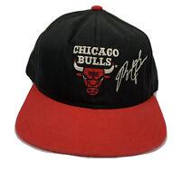 Vintage Chicago Bulls Hat Michael Jordan Snapback Cap Youth 90s NBA Team