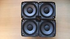 4 X Bose Drivers Speakers Full Range 2.55 inch 4.6 Ohm, 30W RMS