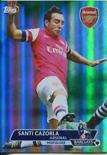 Premier Gold Soccer 13/14 Green Parallel Base Card [/99] #3 Santi Cazorla