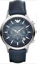 Mens Emporio Armani AR2473 Navy Blue Chronograph Watch