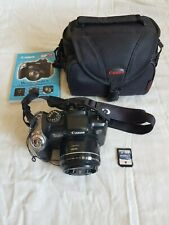 Canon PowerShot SX20 IS Digital Camera 12.1MP Tested Works + Bag + 2 Memory Card