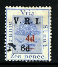 ORANGE RIVER COLONY 1902 4d. Surcharge in RED on 6d. on 6d. Blue SG 136 VFU