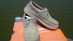 "Men's Soft Science Shoes ""The cruise"" Fishing Boat Shoes khaki Shoes sz.11"