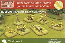 Plastic Soldier 1/72 WWII Russian Infantry Heavy Weapon