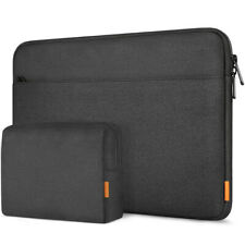 Inateck 15-15.6 Inch Laptop Sleeve Case Bag with Accessory Pouch - Black