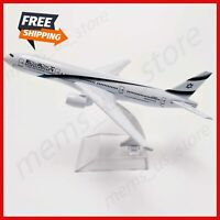 Air Israel Airlines Boeing 777 B777 Airplane Model Plane Aircraft Model 16cm
