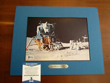 CHARLIE DUKE APOLLO 16 NASA ASTRONAUT SIGNED AUTO 8 X 10 MATTED PHOTO BECKETT