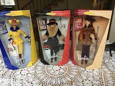 Barbie 199 City Seasons  Collector Edition (set of 3) by F.A.O. Schwartz - MIB -