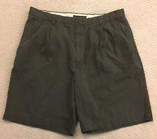 Banana Republic Smithfield Casual Shorts 36 Men's Dark Brown Cotton Relaxed Fit