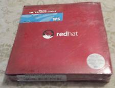 RED HAT ENTERPRISE LINUX WS Ver 3 update 2  RETAIL BOX  RHF0161US !!!