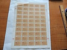 "1978  ""United Nations"" We The People Stamp Sheet"