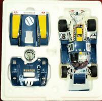 DUAL SIGNED by White & PENSKE-1971 #11 Penske SUNOCO 512M Daytona & Le Mans 24's