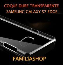 Housse étui coque cristal dure rigide transparent samsung galaxy S7 EDGE