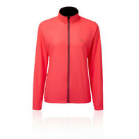 RonHill Womens Everyday Jacket Top - Pink Sports Running Full Zip Breathable