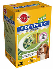 Pedigree Dentastix Fresh Dental Treat Medium / 28 Pack