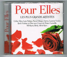 POUR ELLES - 2 CD SET - 34 TRACKS - 2013 - NEUF NEW NEU