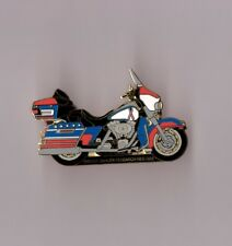 pin's Harley Davidson / breast cancer research 2002 (zamac double attache)