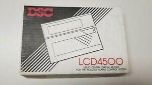 DSC LCD 4500 Keypad English Language Alarm Keypad For DSC PC4000 NEW