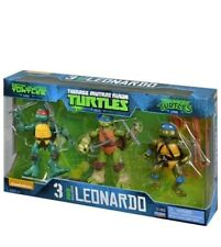 Teenage Mutant Ninja Turtles Leonardo 3 pack Action Figures TMNT Gift Toys