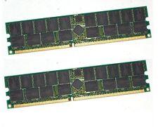 NOT FOR PC/MAC! 4GB 2x 2GB PC2700 DDR 333 ECC REG HP XW6000