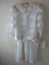 NWT WOMAN RICHARD WARREN 2 pc. DRESS--- TOP & SKIRT, SIZE 8, WHITE MSRP $270
