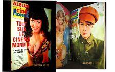 Revue Nouveau CINE MONDE Album #3 Cinema Kino Movie WELCH CHAPLIN Rel 5 num 1966