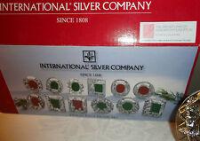 International Silver Twelve Days Of Christmas Silverplate Photo Frame
