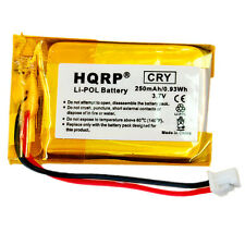 HQRP Battery for VXI B250-XT Wireless Bluetooth Headset Roadwarrior Blue-Parrot