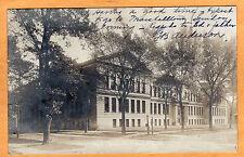 Childs Real Photo Postcard RPPC - High School Evanston Illinois