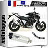ARROW KIT POT ECHAPPEMENT APPROUVE RACE-TECH C BLANC KAWASAKI Z 800 E 2013 13