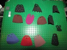 LEGO lot 12x Capes Minifig flag stars monster star wars harry potter batman
