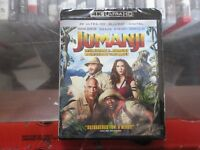 BRAND NEW Jumanji (4K Ultra HD + Blu Ray + Digital)
