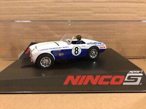 Ninco slot car 50647 New in box Austin Healey Panamericana #8