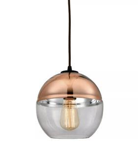 Beautiful Globe Light ELK Lighting 10490/1 Revelo Mini Pendant Oil Rubbed Bronze