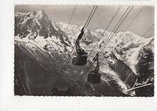 Chamonix Telepherique du Brevent 1954 RP Postcard Switzerland 392a