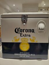 Stainless Steel (Metal) Corona Beer Cooler - Vintage Style -15L w/ bottle opener