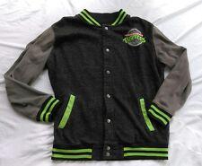 Teenage Mutant Ninja Turtles TMNT Varsity Jacket Medium Embroidered Logo 90's TV