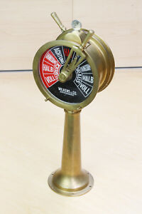 Maschinentelegraph mit Repeater, Nautiquität, Maritime Dekoration