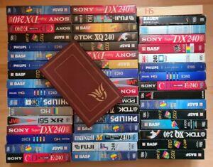 51 VHS Kassetten, Konvolut, gebraucht, Videokassetten bespielt, Blockbuster.