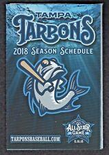 Tampa Tarpons 2018 Regular Season Pocket Schedule