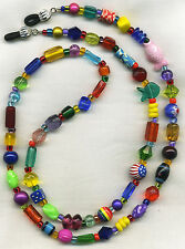 SUPER Artsy COLORFUL Eyeglass~Glasses Holder Necklace Chain *CUSTOMIZABLE!*