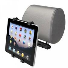 PREMIUM HEADREST CAR MOUNT SEAT BACK HOLDER CRADLE DOCK TRAVEL KIT for TABLETS