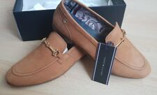 16b84a0ad BNIB TOMMY HILFIGER COGNAC Nubuck Loafers moccasin Slip On SIZE 41 UK7 RRP  £115