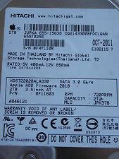 Hitachi HDS722020ALA330 | MLC: JPK37B | 0F11603 | OCT-2011 | 2TB disco duro #02