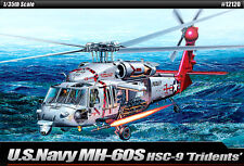 Academy Helicopter 1/35 Scale Plastic Model Kit U.S.Navy MH-60S HSC-9 #12120